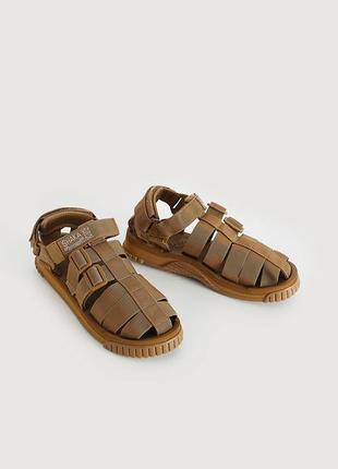 Shaka hiker sandals khaki teva suicoke японські сандалі