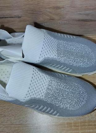 Легкие кроссовки 🌺 мокасины стрейч дышащие текстиль сетка легкие на лето3 фото