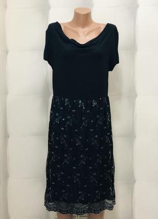 Стильное  комфортное платье от oliver, размер 52