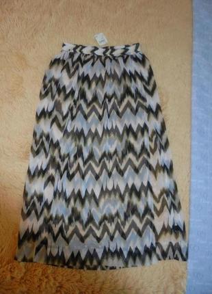 Новая с биркой юбка с разрезами впереди  макси в пол