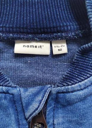 Кофта, куртка мальчику name it, на 1-2 года3 фото