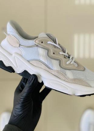 Мужские кроссовки adidas ozweego white 41-42-43-44-45