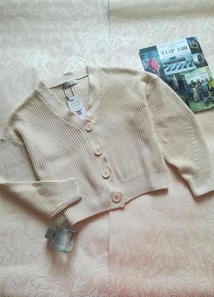 Кардиган свитер светер вязаний stradivarius xs