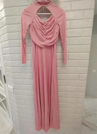 Рожеве вечірнє плаття вінтаж ретро