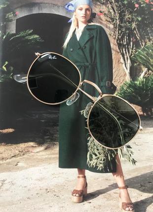 Солнцещащитные очки ray ban раунды1 фото