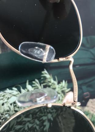 Солнцещащитные очки ray ban раунды3 фото