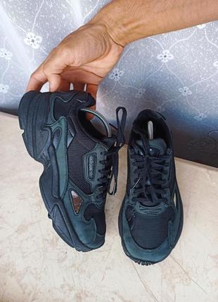 Кроссовки кросівки кеди кеды adidas falcon 37 р оригинал