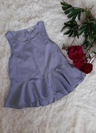 Шикарная полосатая блуза с баской only