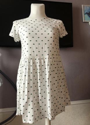 ☘️ платье/ сукня must have рисунок клевер