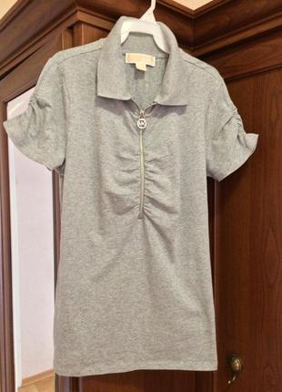 Очаровательная женственная футболка поло michael kors