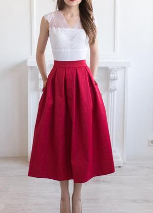 Объемная юбка