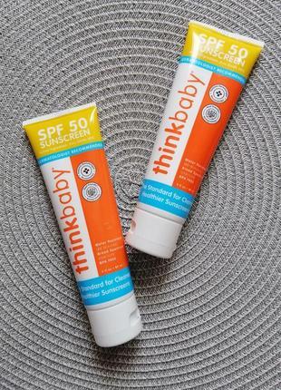 Think, thinkbaby, сонцезахисний крем spf 50+ для дітей з 6 місяців та дорослих, 89 мл