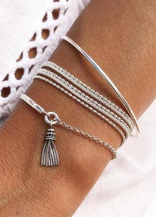 Набор браслетов в стиле минимализм / большая распродажа!