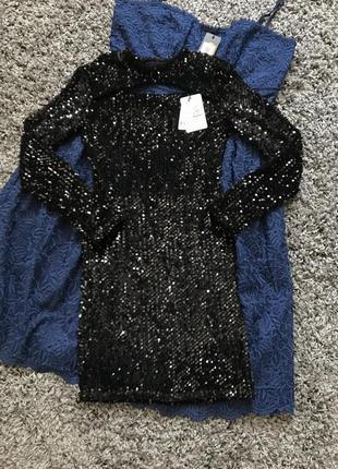 Вечернее платье в пайетки jennyfer