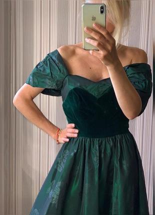 Винтажное платье laura ashley5 фото