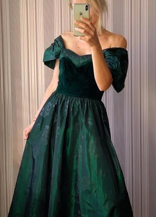 Винтажное платье laura ashley4 фото