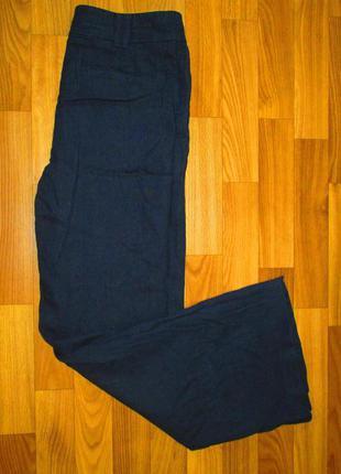 Актуальные удобные штаны marks&spenser лен размер 10