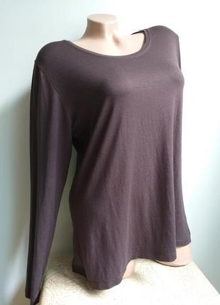 Лонгслив. футболка с длинным рукавом. марсала. кофейный, коричневый, шоколад.