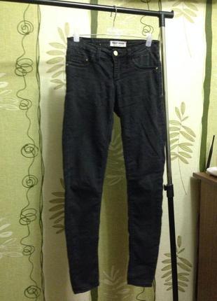 Джинсы, джеггинсы, брюки джинсовые чёрные