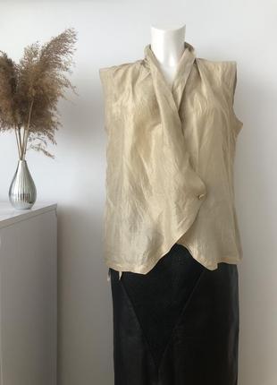 Шовкова літня блуза блузка кофта