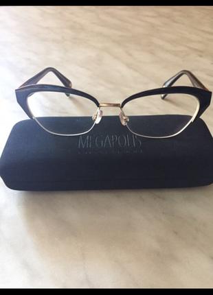 Очки, окуляри, оправа megapolis (кошки, лисички)