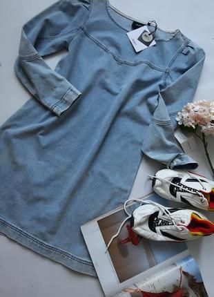 Джинсовое платье object