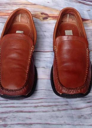 Туфли- лоферы оригинальные от ugo monelli р 43
