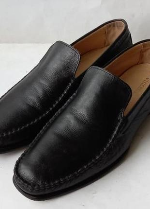 Туфли лаферы кожаные vinsenti