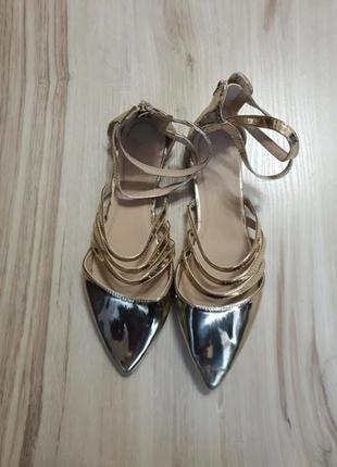 Босоножки, туфли, балетки asos 42 размер.