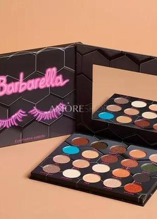 Палетка теней от beebeauty london barbarella eyeshadow palette