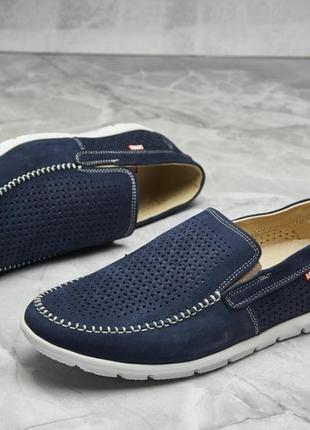 Туфли кожаные перфорация