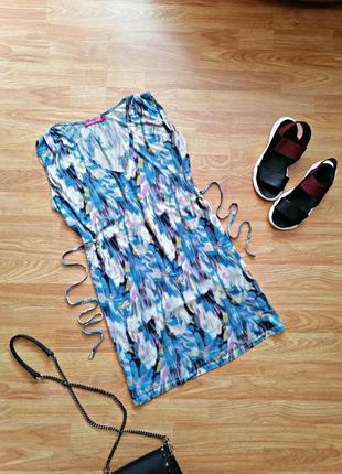 Женская легкая летняя брендовая туника - сарафан indiska - размер 44-48