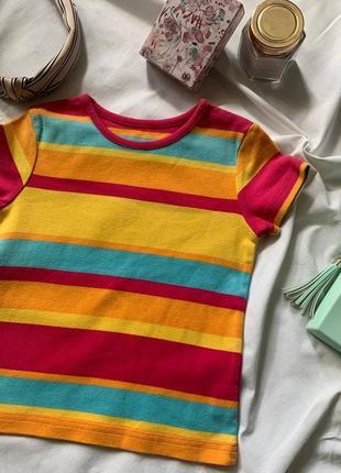 Яркая детская качественная футболка