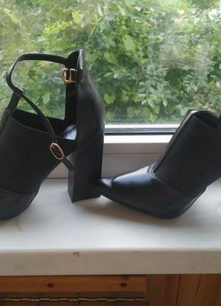 Черные туфельки, 38 размер