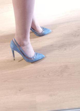 Туфли лодочки на каблуке asos 40 размер 25,5 стелька вставки силиконовые