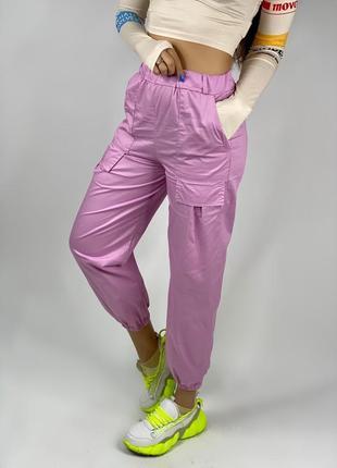Женские штаны-джоггеры