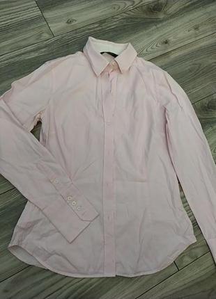 Базовая офисная рубашка,блузка в офис