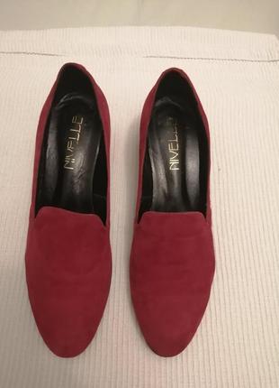 Замшевый туфли