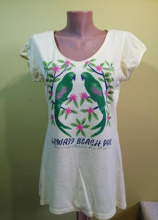 Стильна брендова футболка h&m