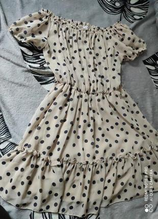 Платье в горошек, можливий обмін - обмен