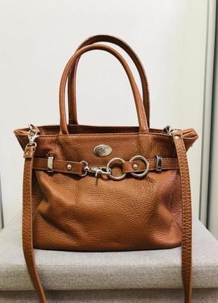 Кожана сумочка італія