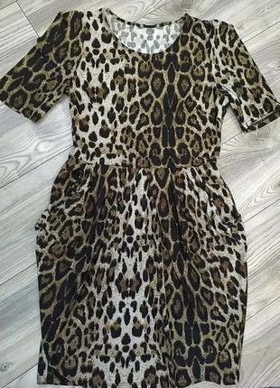 Очень красивое и очень удобное платье леопардовый принт