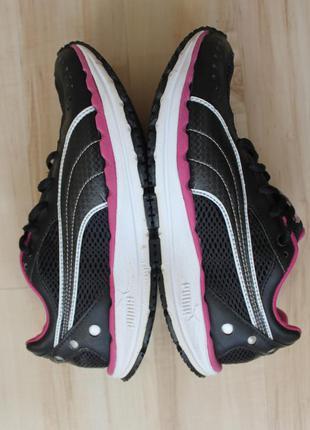 Кожаные кроссовки puma bodytrain для фитнеса, прокачивают ягодичные мышцы и мышцы ног!