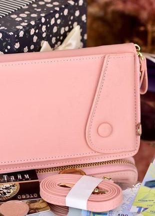 Стильный кошелек, клатч, сумочка, есть цвета, т002