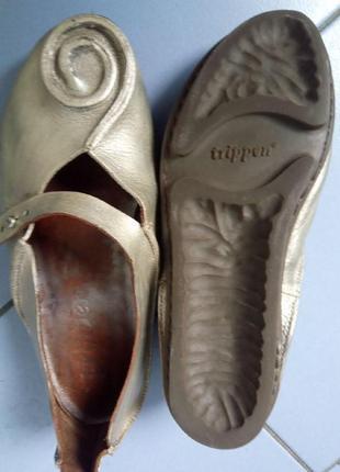 Туфли trippen, натуральная кожа