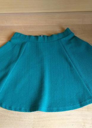 Фирменная мини-юбка h&m