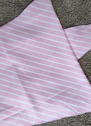 Длинный платок шарф косынка esprit в полоску