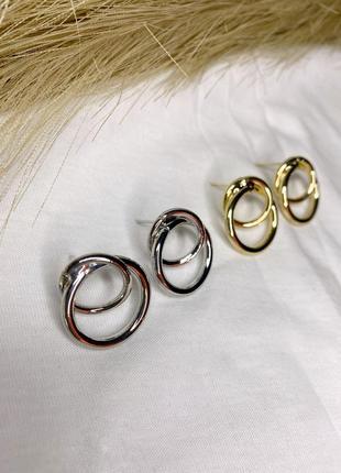 Мінімалістичні сережки