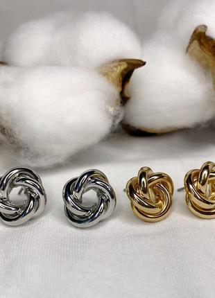 Мінімалістичні сережки гвоздики
