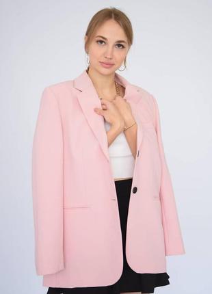 Шикарныц розовый пиджак